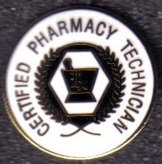 Certified Pharmacy Technician Lapel Pin